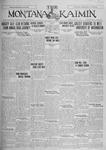 The Montana Kaimin, March 1, 1927