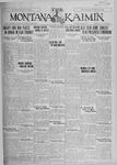 The Montana Kaimin, March 8, 1927
