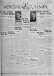 The Montana Kaimin, March 29, 1927