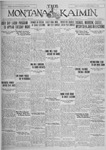 The Montana Kaimin, April 8, 1927