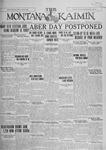 The Montana Kaimin, April 12, 1927