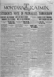 The Montana Kaimin, April 19, 1927