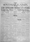 The Montana Kaimin, April 26, 1927