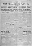 The Montana Kaimin, April 29, 1927