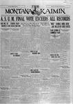 The Montana Kaimin, May 6, 1927