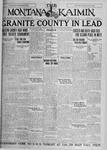 The Montana Kaimin, May 12, 1927