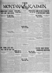 The Montana Kaimin, May 27, 1927