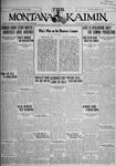 The Montana Kaimin, July 21, 1927