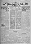 The Montana Kaimin, August 4, 1927