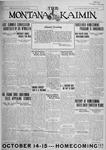 The Montana Kaimin, August 18, 1927