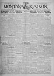 The Montana Kaimin, September 30, 1927