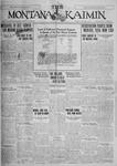 The Montana Kaimin, October 4, 1927