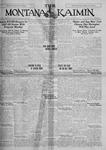 The Montana Kaimin, October 7, 1927