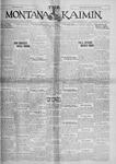 The Montana Kaimin, October 25, 1927