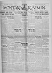 The Montana Kaimin, October 28, 1927