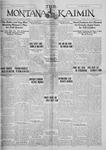 The Montana Kaimin, November 8, 1927