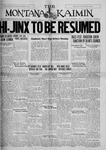 The Montana Kaimin, November 11, 1927