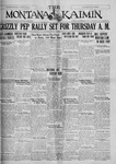 The Montana Kaimin, November 15, 1927