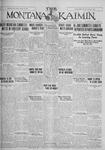 The Montana Kaimin, January 13, 1928