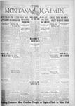 The Montana Kaimin, January 17, 1928