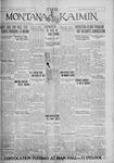 The Montana Kaimin, January 20, 1928