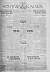 The Montana Kaimin, January 24, 1928