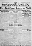 The Montana Kaimin, January 27, 1928