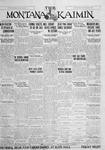 The Montana Kaimin, January 31, 1928