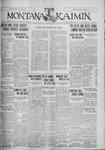 The Montana Kaimin, February 7, 1928