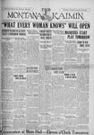 The Montana Kaimin, February 28, 1928