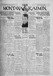 The Montana Kaimin, March 9, 1928