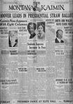The Montana Kaimin, March 23, 1928