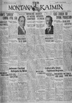 The Montana Kaimin, March 30, 1928