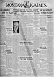 The Montana Kaimin, April 13, 1928
