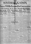 The Montana Kaimin, May 1, 1928