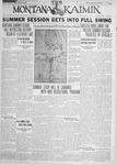 The Montana Kaimin, June 21, 1928