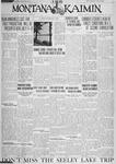 The Montana Kaimin, June 28, 1928