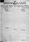 The Montana Kaimin, August 2, 1928