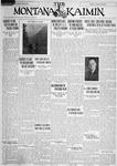 The Montana Kaimin, August 9, 1928