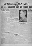 The Montana Kaimin, August 16, 1928