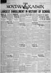 The Montana Kaimin, September 28, 1928