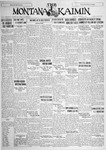 The Montana Kaimin, October 9, 1928
