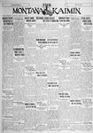 The Montana Kaimin, October 12, 1928