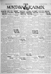 The Montana Kaimin, October 30, 1928