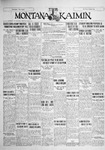 The Montana Kaimin, November 9, 1928
