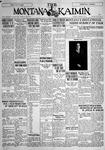The Montana Kaimin, January 8, 1929