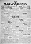The Montana Kaimin, January 29, 1929