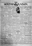The Montana Kaimin, March 1, 1929