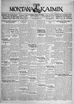 The Montana Kaimin, April 16, 1929