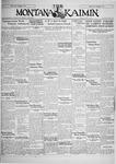 The Montana Kaimin, June 7, 1929